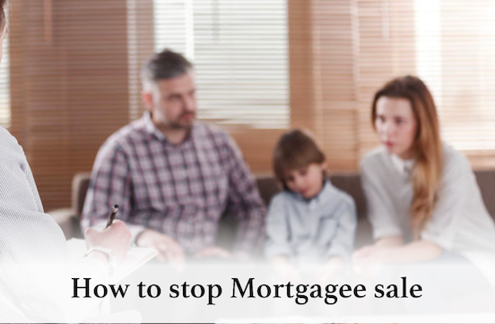 How to stop a mortgagee sale