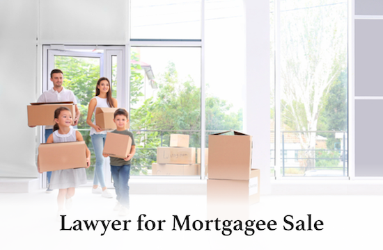 lawyer for mortgagee sale help