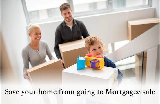 how to stop a mortgagee sale if sick can't pay bills
